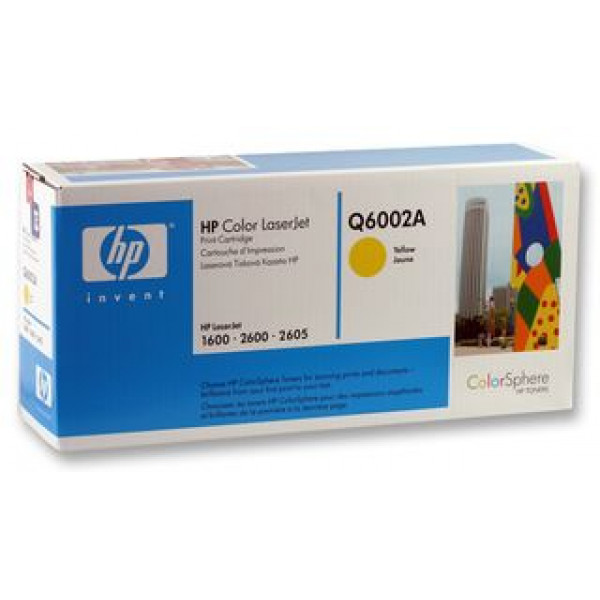 TONER HP Q6002A YELLOW ORIGINAL